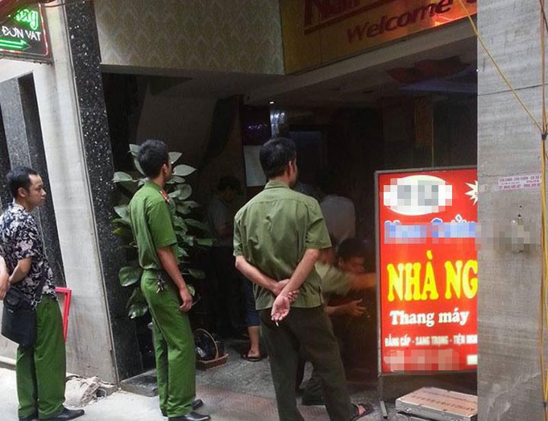 Bắt được nghi phạm bắn chết nhân viên nhà nghỉ ở HN - 1