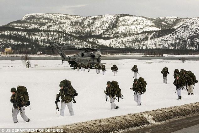 Quan chức Nga dọa hủy diệt Na Uy vì cho lính Mỹ đồn trú - 1