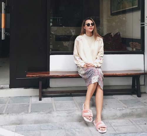 Mỹ nhân Việt mặc gì khi trời trở lạnh? - 4