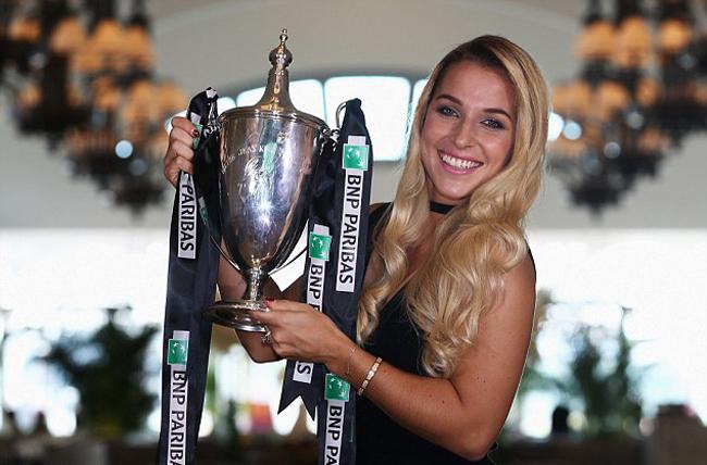 Không chỉ tham dự cho biết, tay vợt 27 tuổi còn giành luôn chức vô địch sau khi đánh bại tay vợt số 1 thế giới Kerber trong trận chung kết.