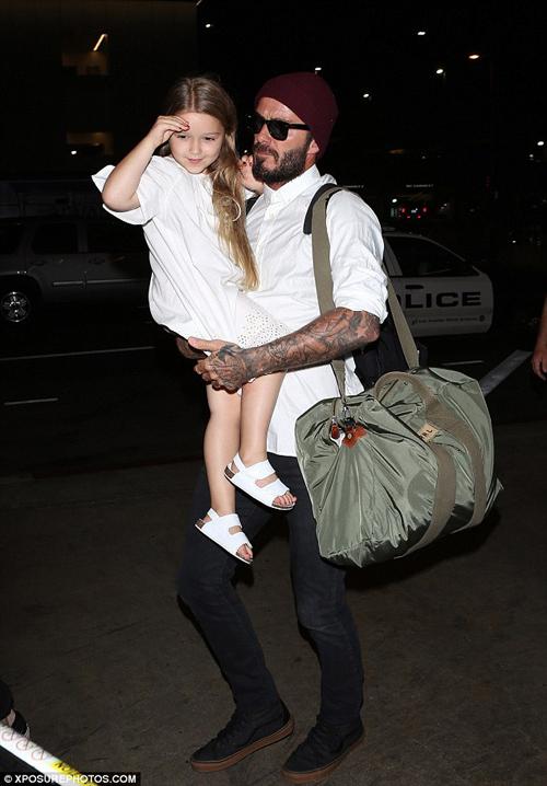 """""""Cô gái"""" khiến Beckham bỏ sự nghiệp ngày càng xinh yêu - 1"""