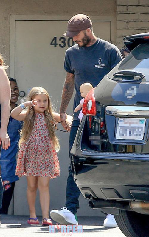 """""""Cô gái"""" khiến Beckham bỏ sự nghiệp ngày càng xinh yêu - 3"""