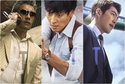 """Hé lộ bom tấn của 3 tài tử """"ăn khách nhất phòng vé Hàn"""" - 1"""