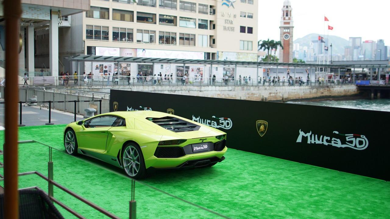 """Ngắm Lamborghini Aventador màu rắn xanh cực """"độc"""" - 5"""