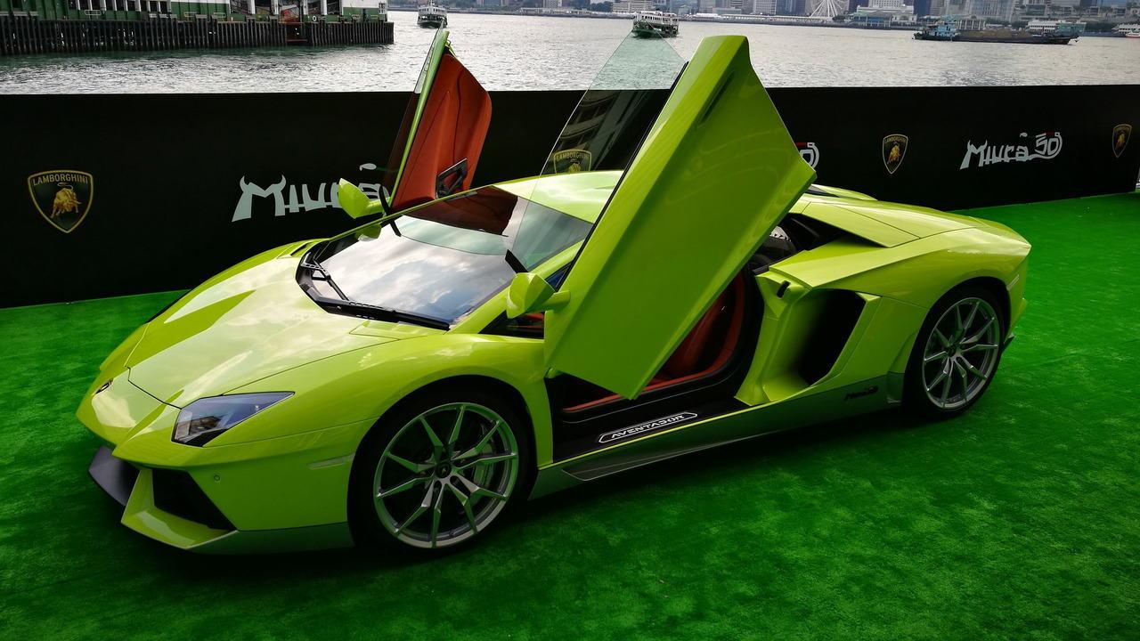 """Ngắm Lamborghini Aventador màu rắn xanh cực """"độc"""" - 6"""