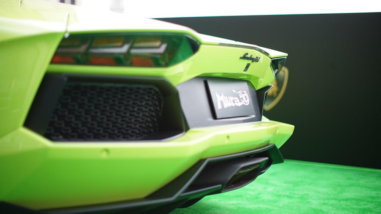 """Ngắm Lamborghini Aventador màu rắn xanh cực """"độc"""" - 7"""