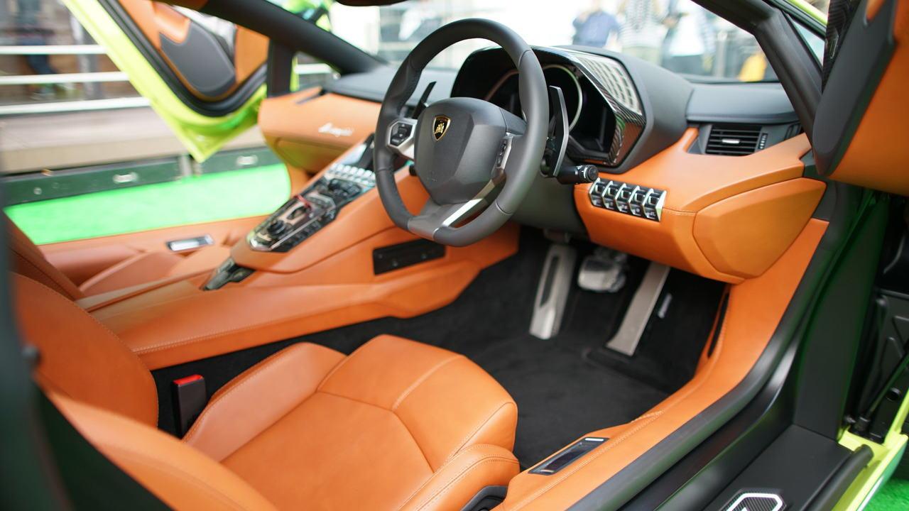 """Ngắm Lamborghini Aventador màu rắn xanh cực """"độc"""" - 8"""