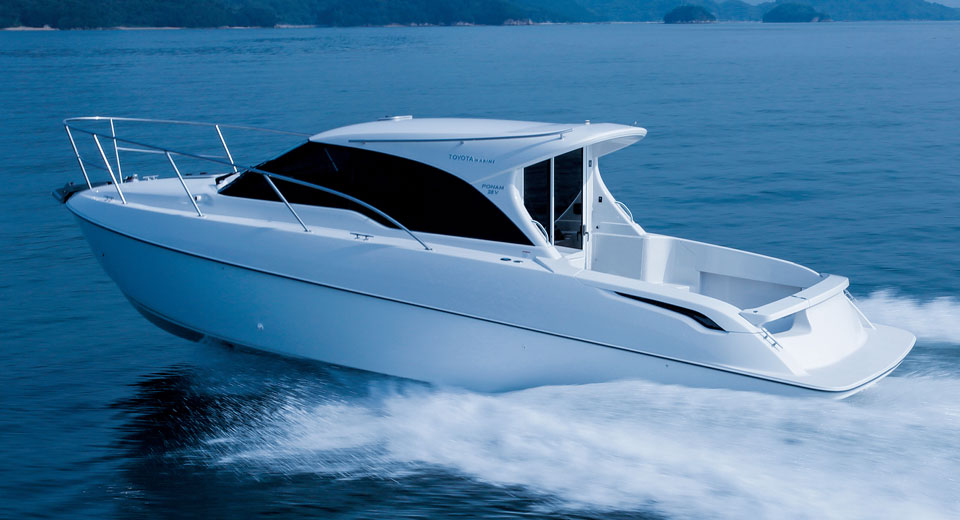 Du thuyền Ponam-28V Sport Cruiser sang trọng của Toyota - 1