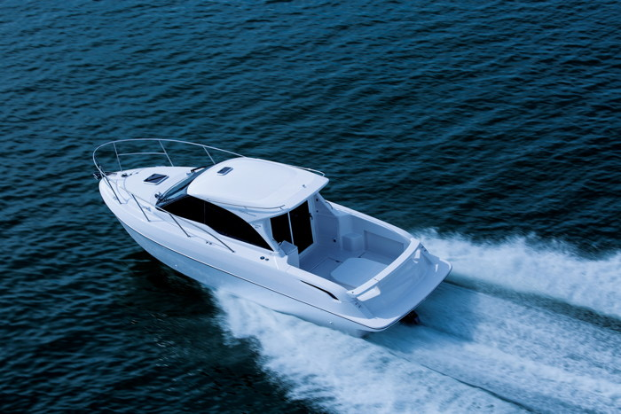 Du thuyền Ponam-28V Sport Cruiser sang trọng của Toyota - 4