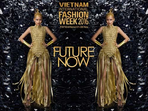 Mẫu 154cm mở màn sàn diễn Vietnam International Fashion - 5