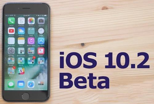 Vừa phát hành iOS 10.1, Apple đã thử nghiệm iOS 10.2 beta - 1