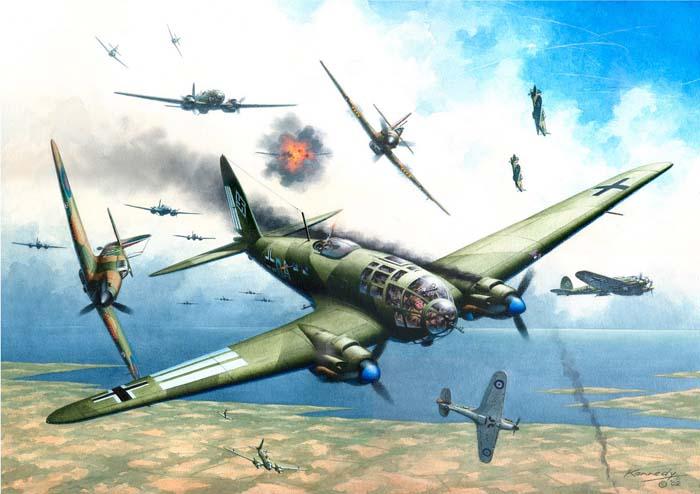 Trận không chiến long trời lở đất của 4.500 máy bay - 1