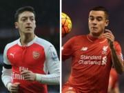 Bóng đá - Cầu thủ hay nhất Ngoại hạng Anh: Coutinho đấu Ozil