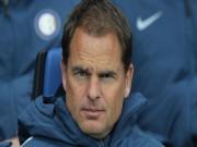 Bóng đá - Tin HOT bóng đá tối 1/11: Inter Milan sa thải Frank de Boer