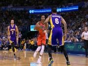 """Thể thao - NBA: Siêu sao gây choáng váng với cú """"triple-double"""""""