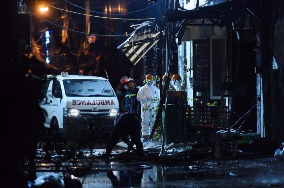 Cháy quán karaoke ở Hà Nội: 13 người đã thiệt mạng - 2