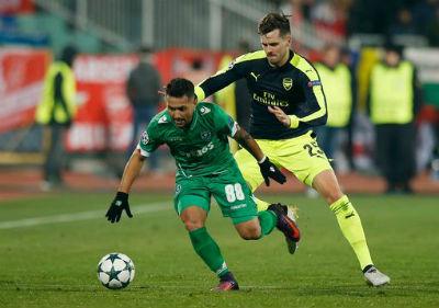 Chi tiết Ludogorets – Arsenal: Tuyệt vời Ozil (KT) - 6