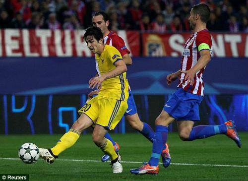 Atletico Madrid - Rostov: Vỡ òa phút 93 - 1