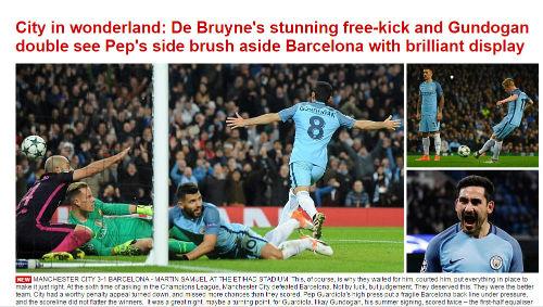 """Báo chí thế giới: Pep Guardiola """"lột trần"""" Barca - 5"""