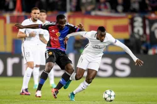 Basel - PSG: Hai siêu phẩm và một thẻ đỏ - 1