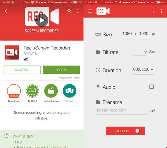 3 ứng dụng quay màn hình trên Android - 2