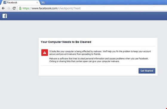 Quét mã độc cho tài khoản Facebook - 2