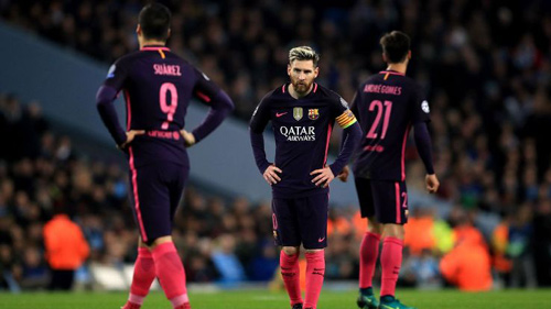 HLV Enrique tiếc cho Barca, Suarez bất ngờ với Man City - 1
