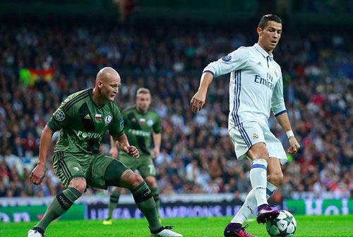 """Legia - Real Madrid: """"Cuồng phong trắng"""" kéo tới - 2"""