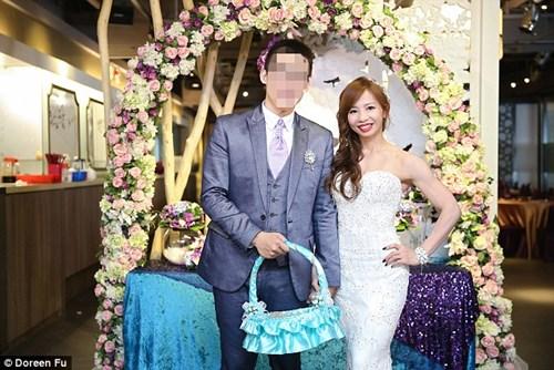 Cô dâu mặc váy cưới đu xà khoe cơ bắp cuồn cuộn - 6