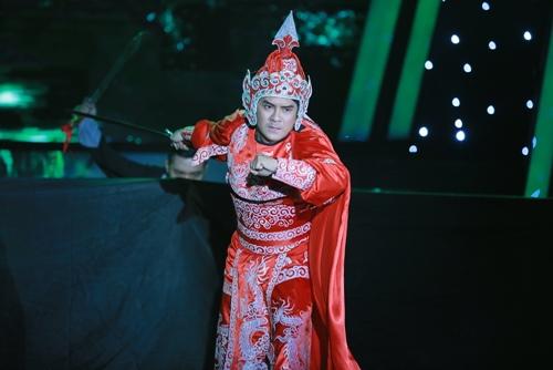 Ngọc Sơn hết lời khen Hùng Thuận hát cải lương tuyệt vời - 1