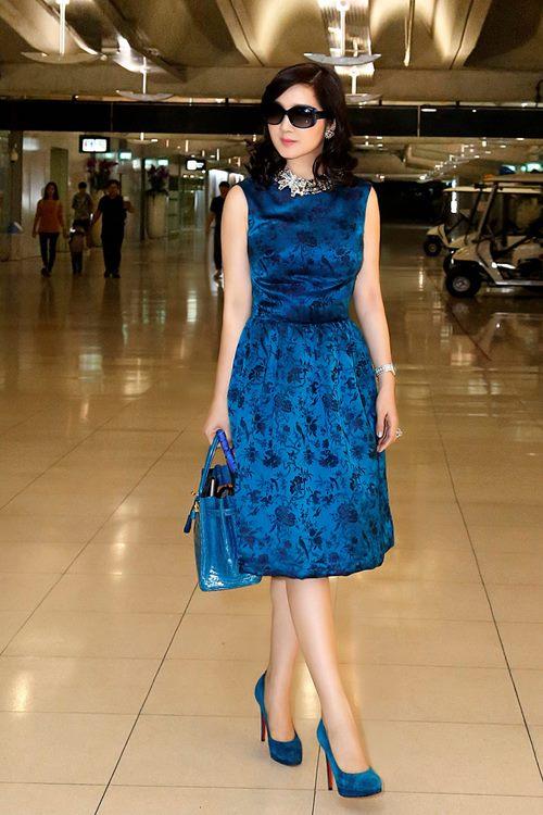 """Soi khối hàng hiệu """"kếch xù"""" của Hoa hậu Giáng My - 1"""