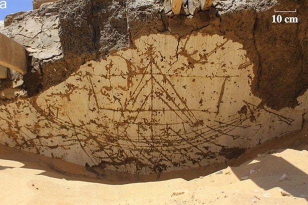 Phát hiện kí tự bí ẩn 3.800 tuổi gần mộ hoàng đế Ai Cập - 2