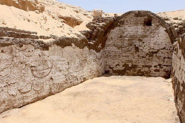 Phát hiện kí tự bí ẩn 3.800 tuổi gần mộ hoàng đế Ai Cập - 1