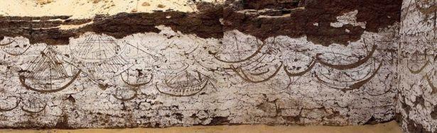Phát hiện kí tự bí ẩn 3.800 tuổi gần mộ hoàng đế Ai Cập - 3
