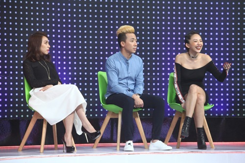 Trấn Thành nhận Tóc Tiên làm em gái trên truyền hình - 2