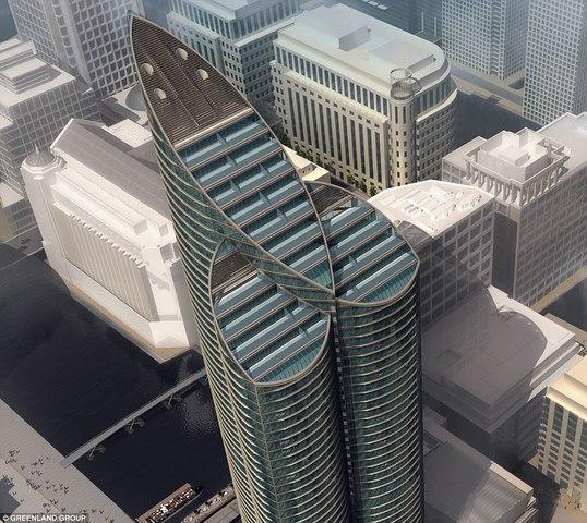 """Tòa tháp cao nhất châu Âu giống hệt """"của quý"""" khổng lồ - 1"""
