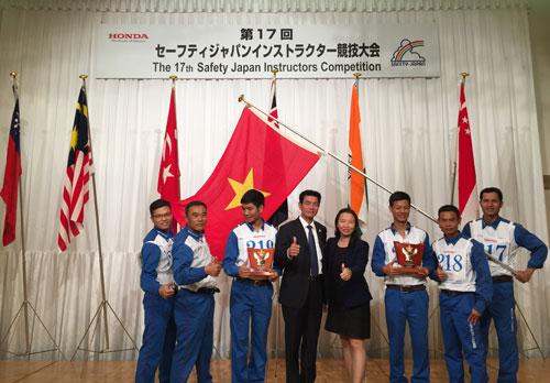 Đoàn Việt Nam thắng lớn ở Cuộc thi Hướng dẫn viên Lái xe an toàn Quốc tế - 5
