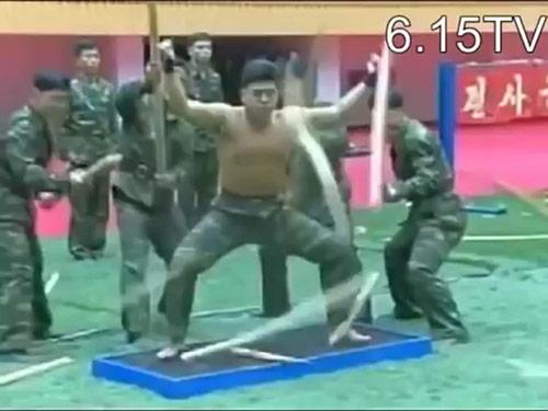 Kung-fu lính Triều Tiên: Dao, sắt, đá…chỉ là xốp - 4