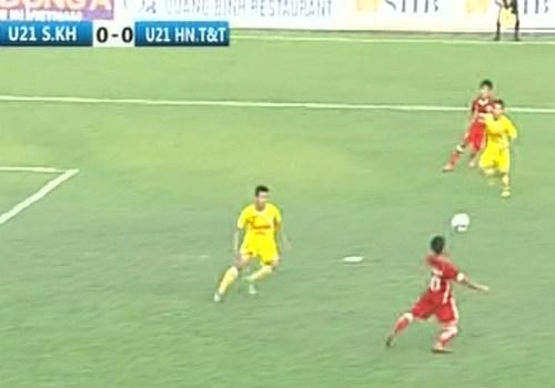 U21 HN T&T - U21 S.Khánh Hòa: Hiệp 2 bùng nổ - 1