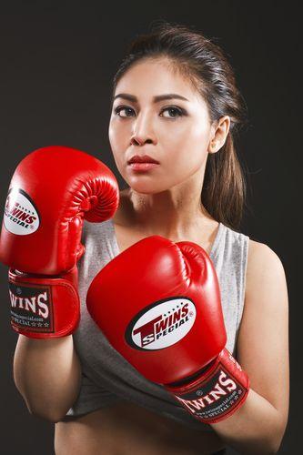 """Soi độ sexy lăn xả của """"nữ hoàng boxing"""" Hoàng Yến My - 1"""