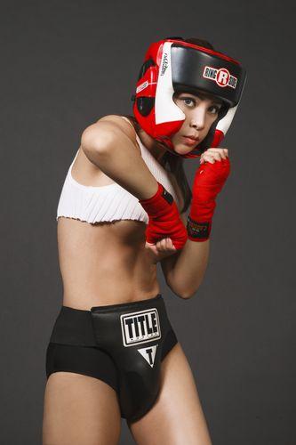 """Soi độ sexy lăn xả của """"nữ hoàng boxing"""" Hoàng Yến My - 5"""