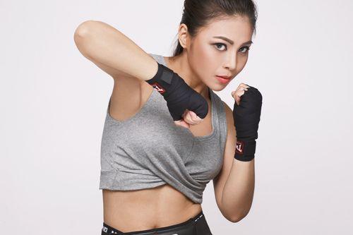 """Soi độ sexy lăn xả của """"nữ hoàng boxing"""" Hoàng Yến My - 9"""