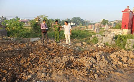 Phát hiện gần 350 bộ hài cốt bị chôn trộm tập thể - 1