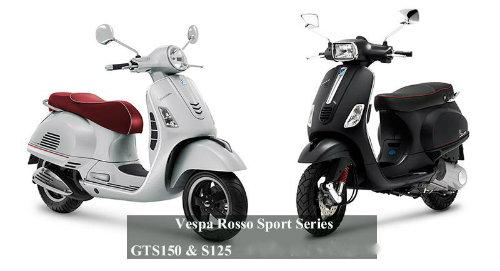 Vespa Rosso Sport Series lên kệ, giá bán hấp dẫn - 1
