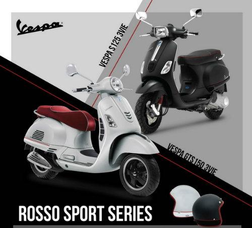 Vespa Rosso Sport Series lên kệ, giá bán hấp dẫn - 4