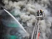 Tin tức trong ngày - Ảnh: Toàn cảnh vụ cháy quán karaoke khiến 13 người thiệt mạng