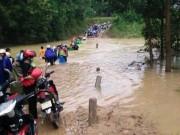 Tin tức trong ngày - Lũ trên sông dâng cao, nhiều tuyến đường bị chia cắt