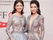 Thời trang - Hoa hậu Mỹ Linh khoe vòng một táo bạo trên thảm đỏ