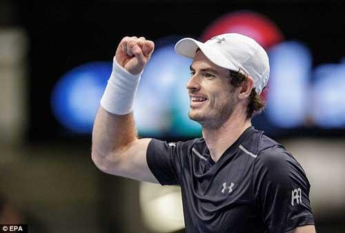 Paris Masters ngày 3: Murray khổ chiến, Wawrinka thua sốc - 1