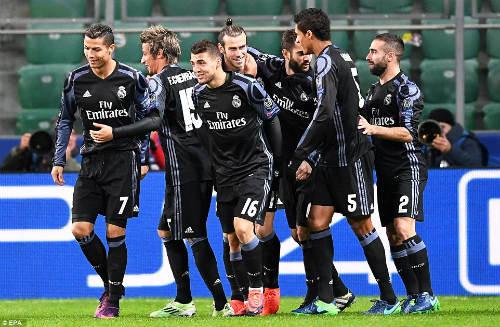 Góc chiến thuật Legia – Real: Zidane ảo tưởng sức mạnh - 1